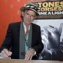Keith Richards firma il libro degli ospiti del Berlinale VIP Club