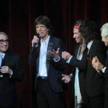 Martin Scorsese e i Rolling Stones alla premiere di 'Shine a Light' a Berlino 2008