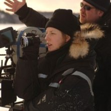 Sarah Polley sul set del film Away from Her - Lontano da lei