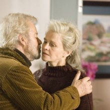Un' immagine di Julie Christie e Gordon Pinsent nel film Away from Her - Lontano da lei