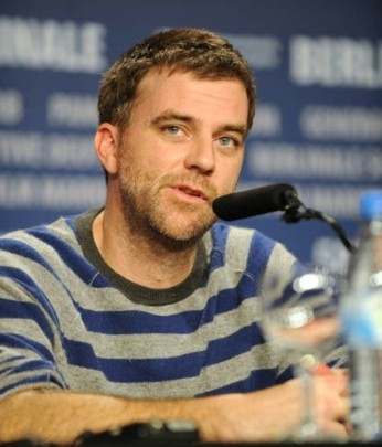 Paul Thomas Anderson a Berlino 2008 durante la conferenza di presentazione de 'Il petroliere'