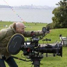 Il regista Marc Forster sul set de Il cacciatore di aquiloni