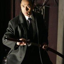 Heroes Volume II - Episodio 9: Ando (James Kyson Lee) con la spada da samurai