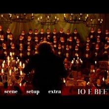 La schermata del menù principale di Io e Beethoven