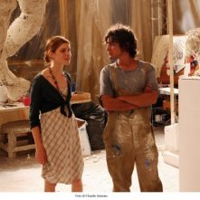 Vittoria Puccini e Riccardo Scamarcio in una foto del film di Sergio Rubini, Colpo d'occhio