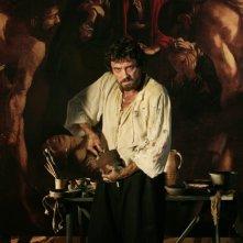 Alessio Boni nei panni di Caravaggio