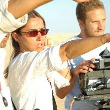 Giovanna Taviani sul set di 'Ritorni'