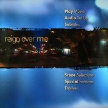Il menù principale del disco di Reign Over Me