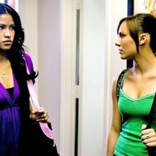 Cassie con Briana Evigan in una scena di Step Up 2