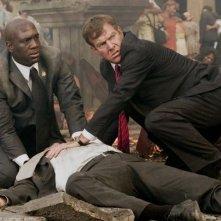 Dennis Quaid in una drammatica sequenza di Prospettive di un delitto