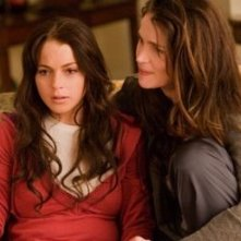 Julia Ormond e Lindsay Lohan in una scena de Il nome del mio assassino