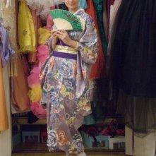 Katherine Heigl in abito tradizionale giapponese in una scena del film 27 volte in bianco