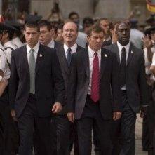 Matthew Fox, William Hurt e Dennis Quaid in una scena di Prospettive di un delitto