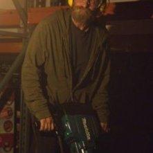 Michael Douglas al lavoro in una scena di Alla scoperta di Charlie