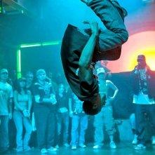 Spettacolari evoluzioni da parte di un ballerino per Step Up 2