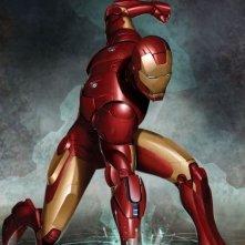 Un'immagine dell'eroe in Iron Man