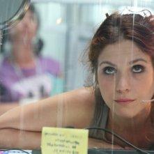 Isabella Ragonese in un'immagine del film Tutta la vita davanti, regia di Paolo Virzì