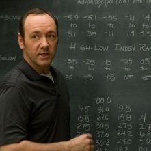 Kevin Spacey in una sequenza di 21