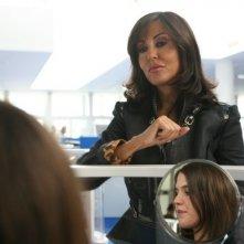 Sabrina Ferilli in una scena del film di Virzì Tutta la vita davanti (2008)