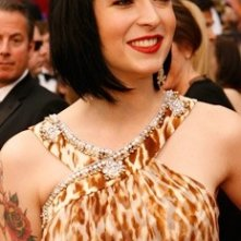 Diablo Cody sul red carpet degli 80° Academy Awards.