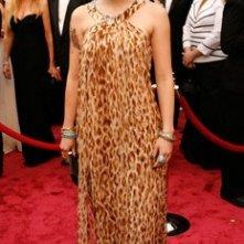 Diablo Cody sul tappeto rosso degli 80° Academy Awards.