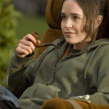 Ellen Page in una sequenza del film Juno