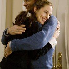 Jennifer Garner e Jason Bateman in una scena del film Juno