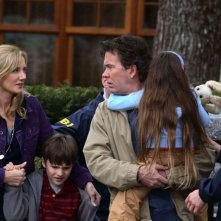 Joely Richardson, Chris O'Neil, Timothy Hutton e Rhiannon Leigh Wrynstars in una scena del film Mimzy - Il segreto dell'universo
