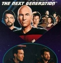 La locandina di Star Trek: The Next Generation