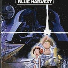 """La copertina DVD di I griffin presentano """"Blue Harvest"""""""