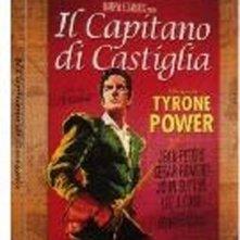 La copertina DVD di Il capitano di Castiglia