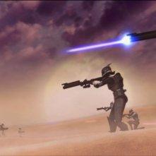 Una scena da The Clone Wars