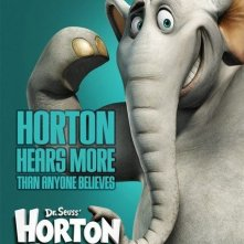 Poster promozionale verde acqua per Horton Hears a Who!