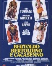 La locandina di Bertoldo, Bertoldino e... Cacasenno
