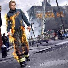 Un poster della serie di Rescue Me