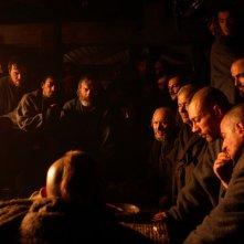 Foto di scena per il film de I demoni di San Pietroburgo.