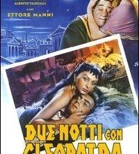 La locandina di Due notti con Cleopatra