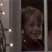 Macaulay Culkin in una scena di Mamma, ho perso l'aereo.