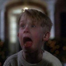 Macaulay Culkin in una sequenza di Mamma, ho perso l'aereo