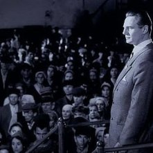 Liam Neeson in una scena di Schindler's List
