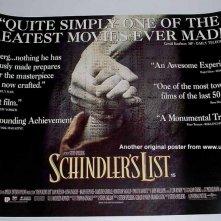 Poster commemorativo di Schindler's List
