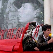 Artur Smolyaninov in una scena di Mars - Dove nascono i sogni