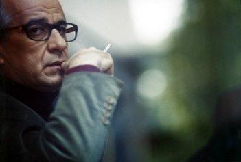 Toni Servillo durante le riprese di Le conseguenze dell'amore