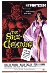 La locandina di She-Creature