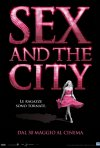 La scintillante locandina italiana di Sex and the City