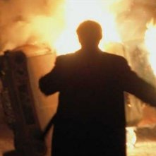 Una foto del film Cover Boy l'ultima rivoluzione, per la regia di Carmine Amoroso