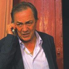 Remo Girone in una scena del film MissTake, diretto da Filippo Cipriano
