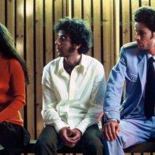 Shlomi Avraham e Saleh Bakri in una sequenza de La banda