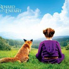 Wallpaper de La volpe e la bambina con il manifesto del film