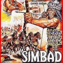 La locandina di Simbad contro i sette saraceni